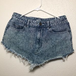 Urban Outfitters BDG High Rise Drew Cheeky Shorts